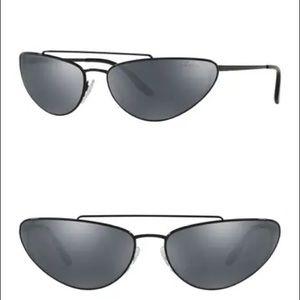 Prada Irregular 66mm Cat Eye Sunglasses, NWT